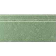 Ступени Керамика Будущего АМБА Зеленый 600х300