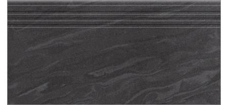 Ступени Керамика Будущего АМБА Черный 600х300