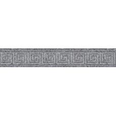 Бордюр Керамика Будущего Эльбрус Серый Классик 1200х600 и 600х100