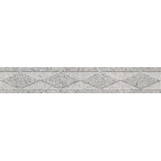 Бордюр Керамика Будущего Эльбрус Классик Светло-серый 1200x100 и 600х100