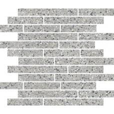 Мозаика Керамика Будущего Эльбрус Светло-серый 300x358
