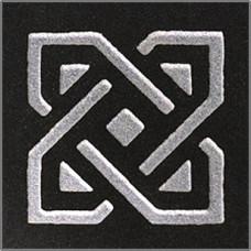 Вставка БЕЛФАСТ Черный 60х60