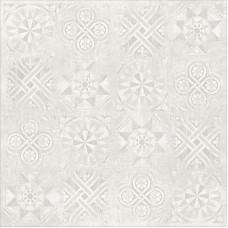 Гранит Стоун Цемент Декор Белый 1200х1200