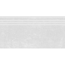 Ступени Гранит Стоун Цемент Белый 600х300