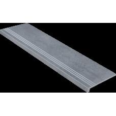 Ступени с капиносом Гранит Стоун Оксидо Светло-Серый 1200х320