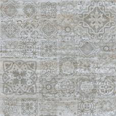 Гранит Стоун Травертин Декор Серебро 1200х1200