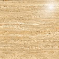Гранит Стоун Травертин Медовый Полированный 1200х1200