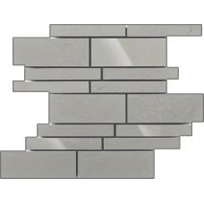 Мозаика Керамика Будущего Универсальная Темно-серый 300х395