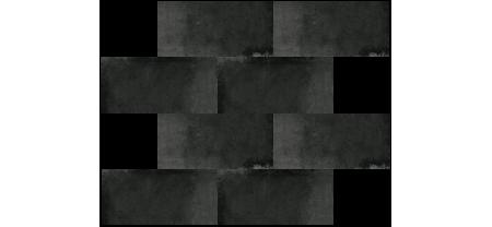 Мозаика Оксидо Кирпич Черный 350х280