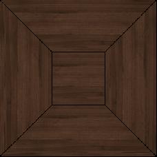 Мозаика Вуд Классик Пирамида Венге 300х300