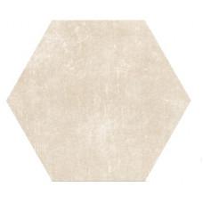 Hexagon Цемент Беж 300x260 Шестигранник