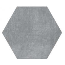 Hexagon Цемент Темно-серый 300x260