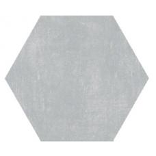 Hexagon Цемент Светло-серый 300x260