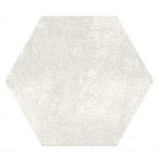 Hexagon Цемент Белый 300x260