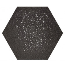 Hexagon Декор Неро LR 300x260