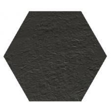 Hexagon Моноколор Черный SR 300x260