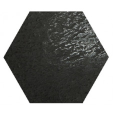 Hexagon Моноколор Супер Черный LR 300x260
