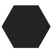 Hexagon Моноколор Супер Черный MR 300x260