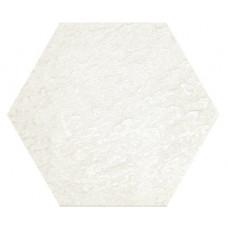 Hexagon Моноколор Белый LR 300x260 Шестигранник