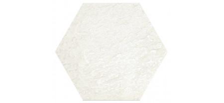 Hexagon Моноколор Белый LR 300x260