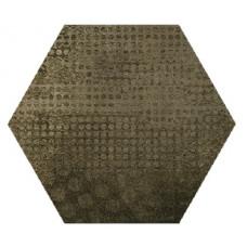 Hexagon Оксидо Декор Умбра LLR 300x260