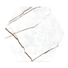 Hexagon Сандра Белый 300x260