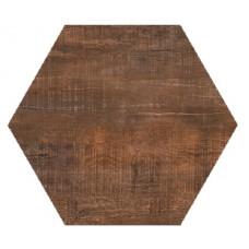 Hexagon Вуд Эго Темно-Коричневый 300x260 Шестигранник