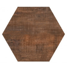 Hexagon Вуд Эго Темно-Коричневый 300x260