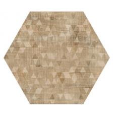 Hexagon Вуд Эго Декор Беж 300x260
