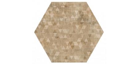 Hexagon Вуд Эго Декор Беж 300x260 Шестигранник