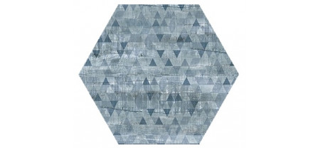 Hexagon Вуд Эго Декор Синий 300x260 Шестигранник