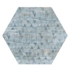 Hexagon Вуд Эго Декор Серо-Голубой 300x260