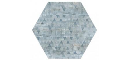 Hexagon Вуд Эго Декор Серо-Голубой 300x260 Шестигранник