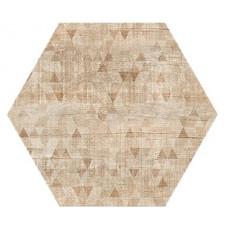 Hexagon Вуд Эго Декор Светло-Бежевый 300x260