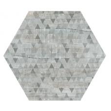 Hexagon Вуд Эго Декор Светло-Серый 300x260