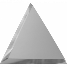 Зеркальная плитка Треугольная с Фацетом (Матовая)