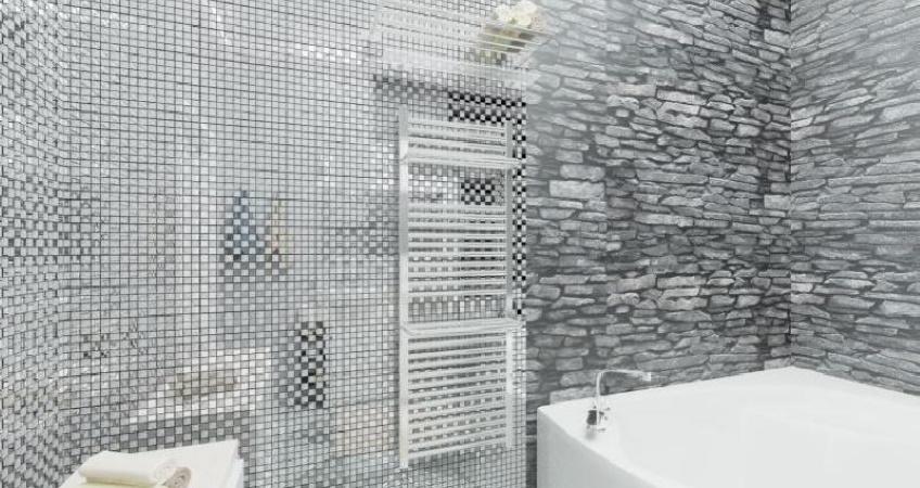 Мозаика Хрусталь 50% - Серебро 50%