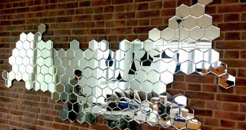 Зеркальный Hexagon