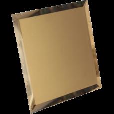 Потолочная зеркальная плитка Бронзовая (Матовая)