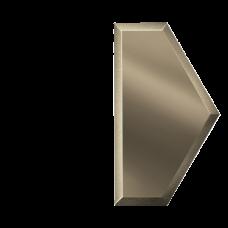 Зеркальная плитка Полусота Бронзовая (У)
