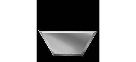Зеркальная плитка Полусота с Фацетом (П)