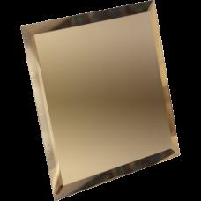 Потолочная зеркальная плитка Бронзовая