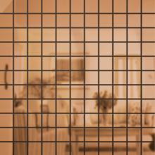 Зеркальная мозаика Бронза | Чип 25