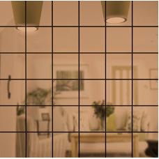 Зеркальная мозаика Бронза | Чип 50