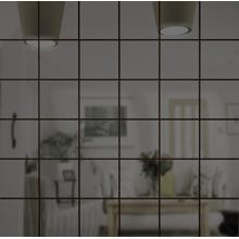 Зеркальная мозаика Графит | Чип 50