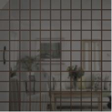 Зеркальная мозаика Графит | Чип 25