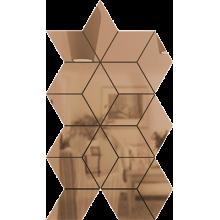 Зеркальная мозаика Бронза ЦВЕТ