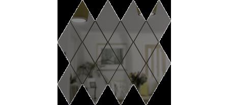 Зеркальная мозаика Графит РОМБ