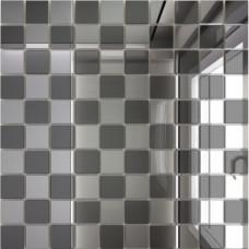 Зеркальная мозаика Графит-Серебро Микс № 1