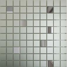 Зеркальная мозаика Серебро (Мат) - Графит